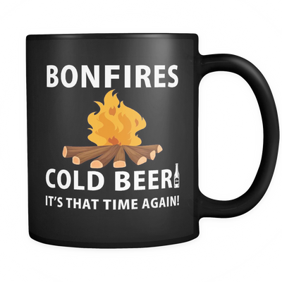 Mug Bonfires cold beer camp1133