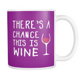 Mug Chance wine WN2001