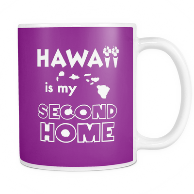 Mug hawaii is my second home HAW2031