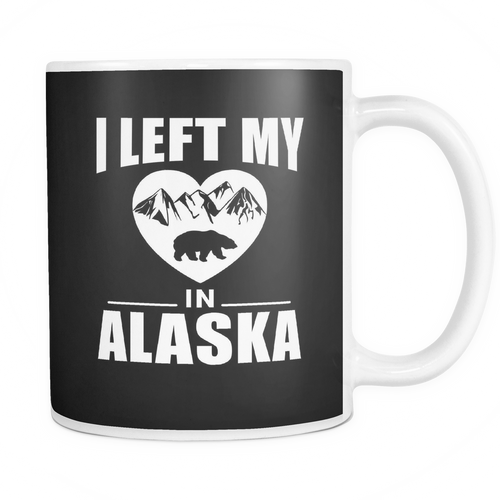 Mug i left my heart in alaska ALA2003