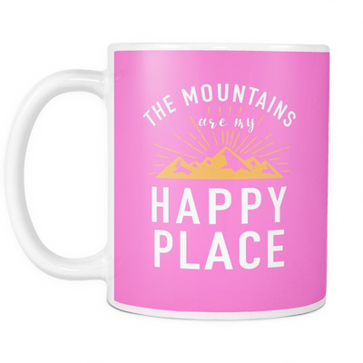 Mug mountains happy place MT2002