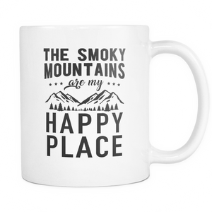 Mug Smoky mountains happy place MT2005