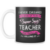 Mug Super sexy teacher TEA2005