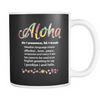 Mugs 11oz aloha hawaii beach cups coffee haw2038