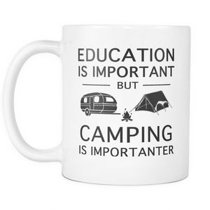 Mugs 11oz Camping is importanter camp2088