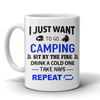 Mugs 11oz camping repeat CAMP2018
