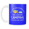 Mugs 11oz Camping season camp2083