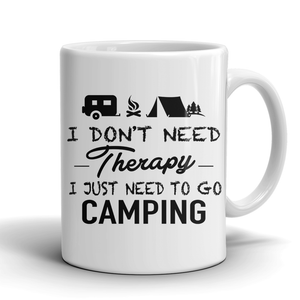 Mugs 11oz camping therapy CAMP2001