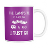 Mugs 11oz color campsite is calling CAMP2002