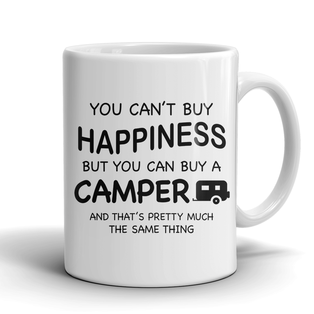 Mugs 11oz happiness can buy a camper CAMP2008