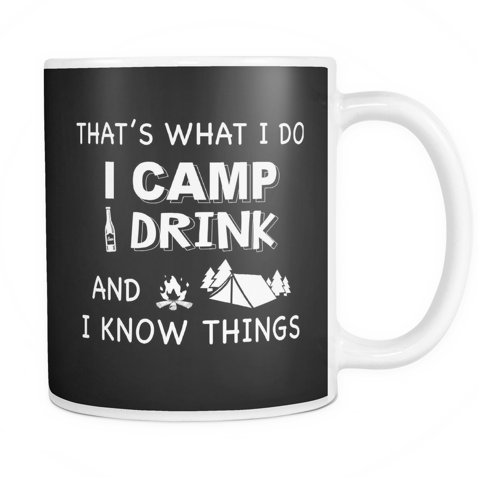 Mugs 11oz i camp i drink camping CAMP2045