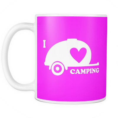 Mugs 11oz I love Camping CAMP2062