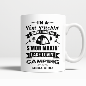 Mugs 11oz i'm a tent pitchin CAMP2020