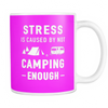 Mugs 11oz not camping enough CAMP2049