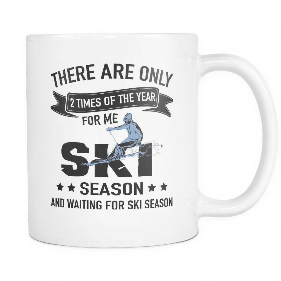 Mugs 11oz ski season cups ski2002
