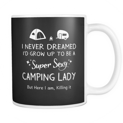 Mugs 11oz Super sexy camping lady CAMP2023