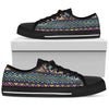 Multicolor Tribal aztec Men Low Top Shoes