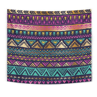 Multicolor Tribal aztec Wall Tapestry