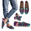 Multicolor Tribal aztec Women Casual Shoes-JorJune.com