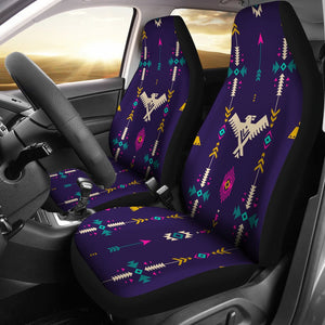 Native American Eagle Indian Pattern Universal Fit Car Seat Covers