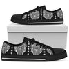 Native American Indian Skull Men Low Top Shoes