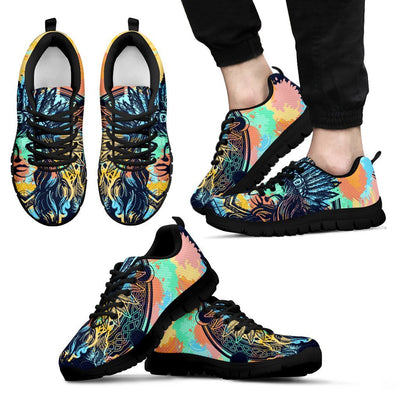 Native Indian Girl Men Sneakers