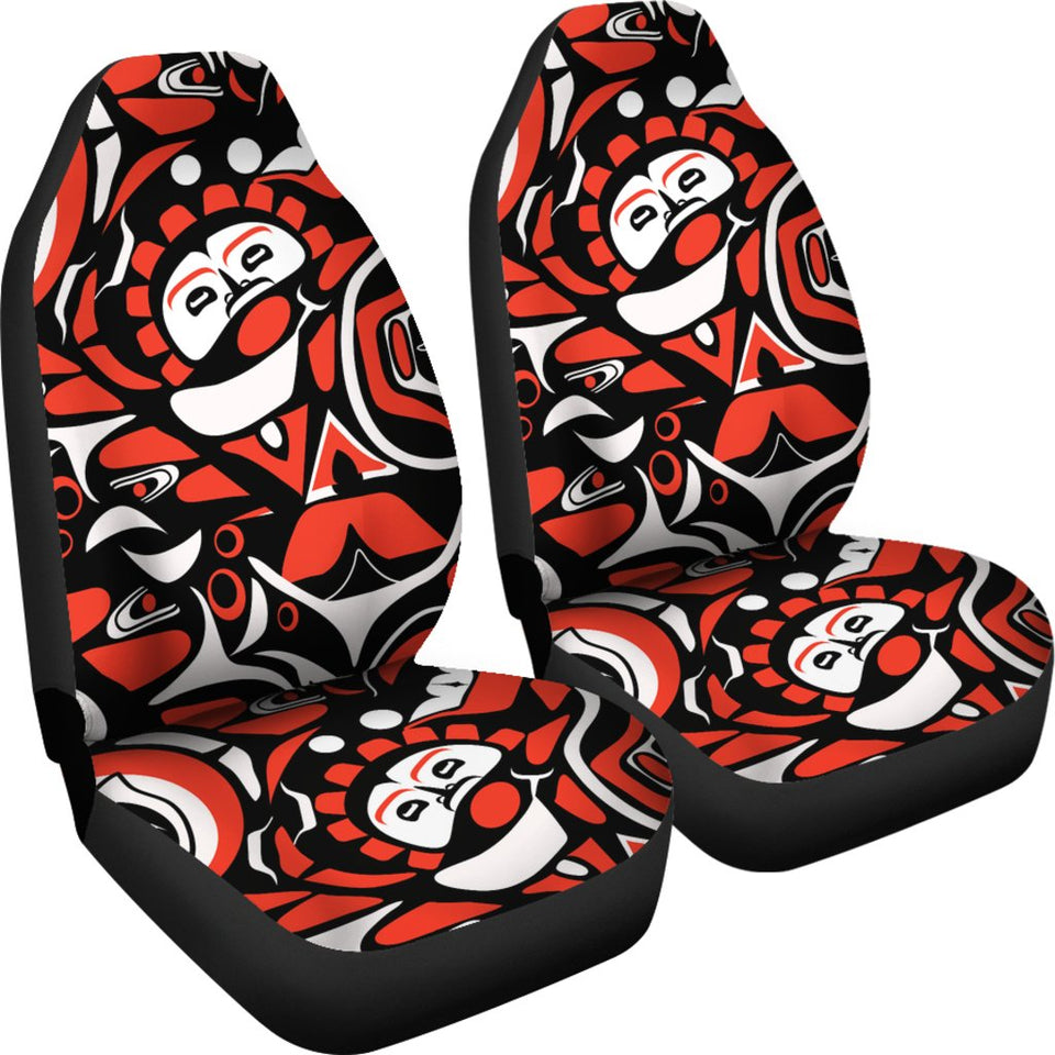 Native North American Themed Print Universal Fit Car Seat