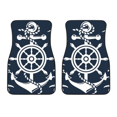 Nautical Anchor Lost my Heart Car Floor Mats