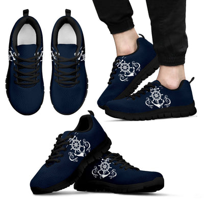 Nautical Anchor Lost my Heart Men Sneakers