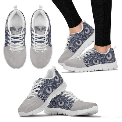 Owl Ornamental Women Sneakers