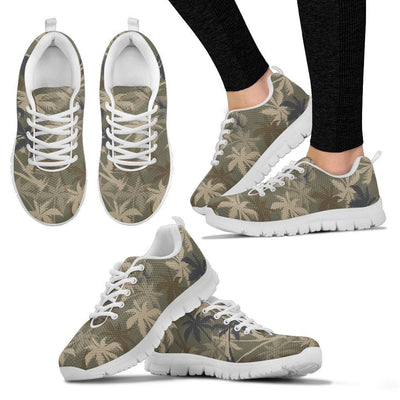 Palm Tree camouflage Women Sneakers