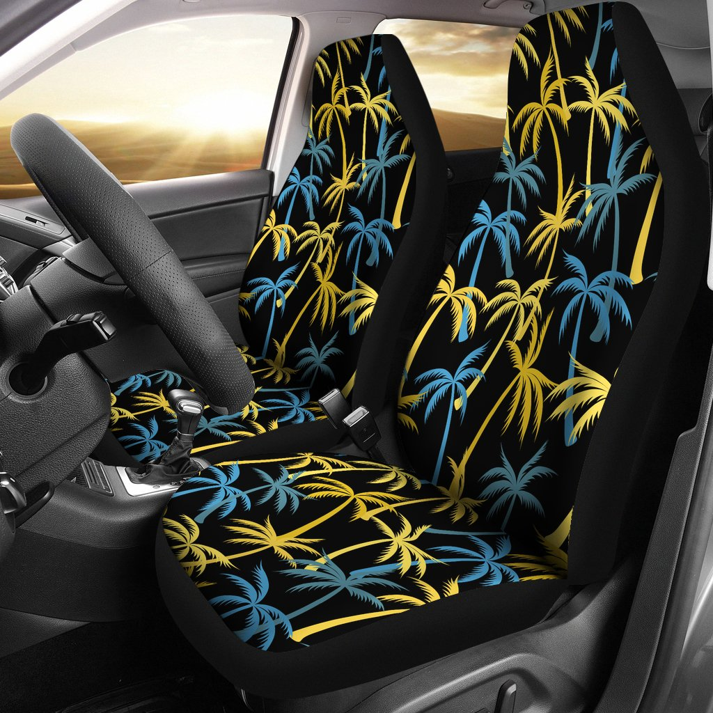 Palm Tree Pattern Universal Fit Car Seat Covers