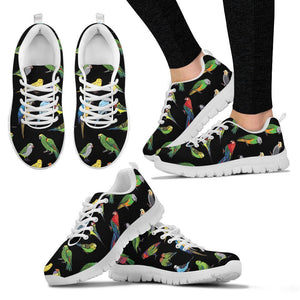 Parrots Pattern Women Sneakers