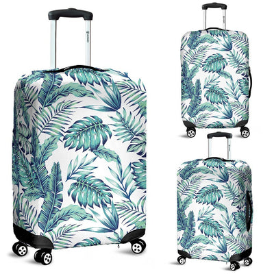 Pattern Tropical Palm Leaves Luggage Protective Cover