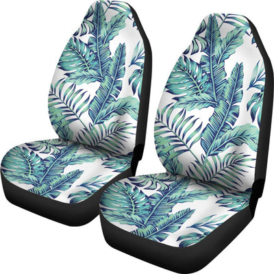 Pattern Tropical Palm Leaves Universal Fit Car Seat Covers