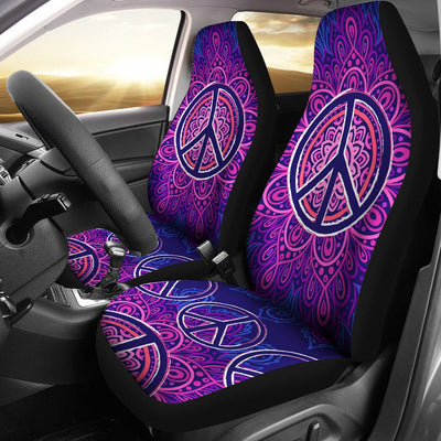 Peace Blue Mandla Universal Fit Car Seat Covers