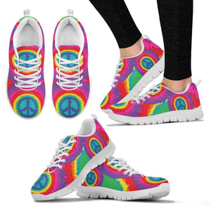 Peace Hippie Tie Dry Women Sneakers