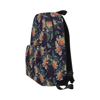 Pear Pattern Print Design PE02 Unisex Nylon Backpacks-JorJune