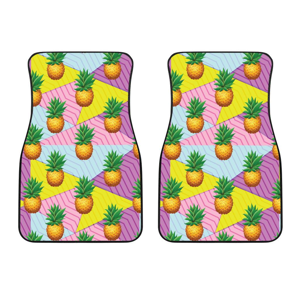 Pineapple Pattern Print Design PP05 Car Floor Mats-JORJUNE.COM