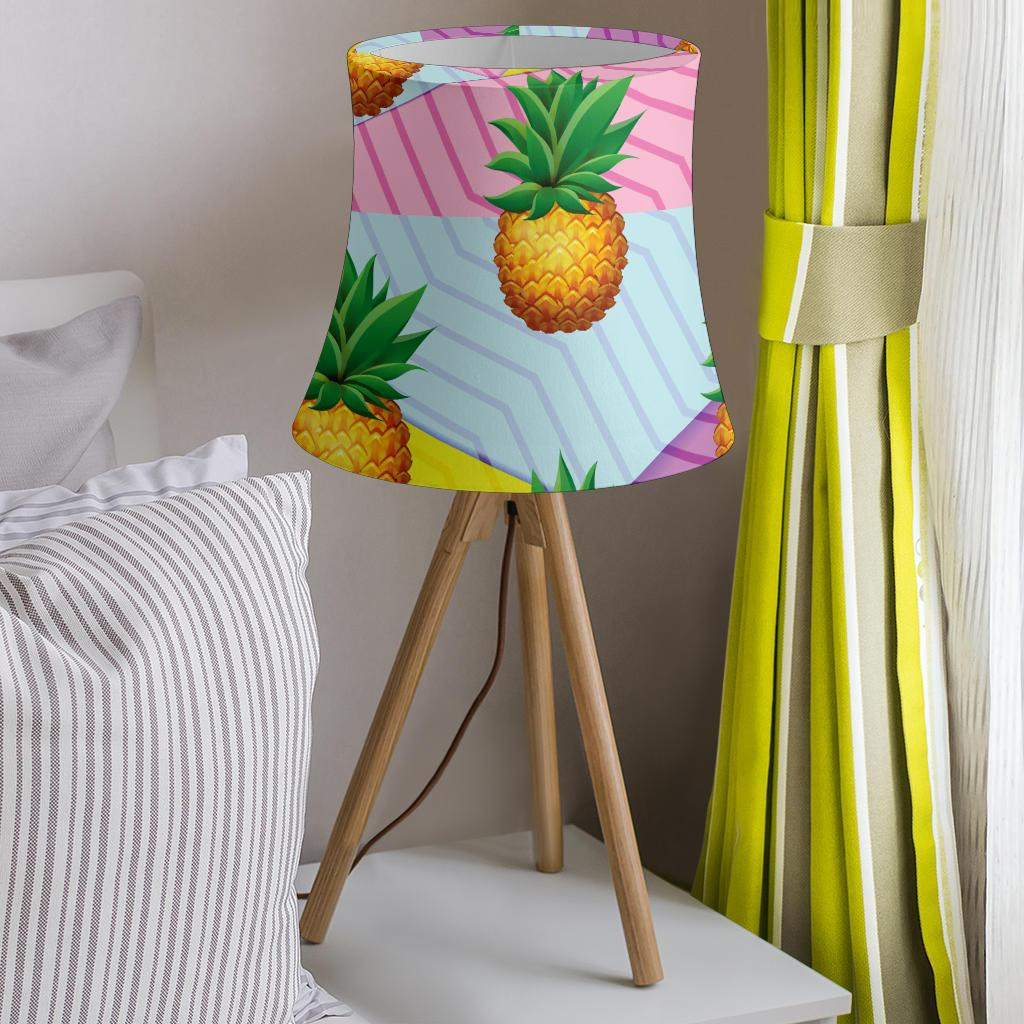 Pineapple Pattern Print Design PP05 Drum Lamp Shade-JORJUNE.COM