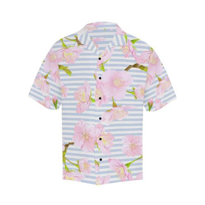 Pink Cherry Blossom Men Hawaiian Shirt