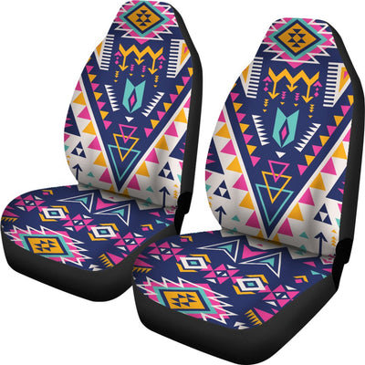 Pink Tribal Aztec native american Universal Fit Car Seat Covers