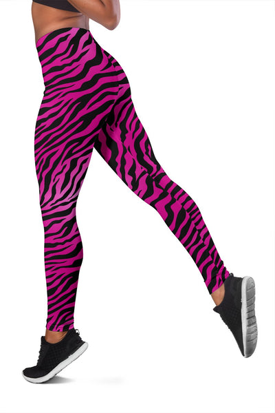 Pink Zebra Women Leggings
