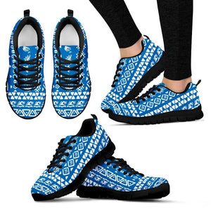 Polynesian Tribal Hawaiian Women Sneakers