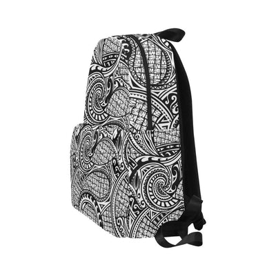 Polynesian Tribal Pattern Unisex Nylon Backpacks-JorJune