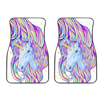 Rainbow Unicorn Car Floor Mats