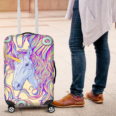 Rainbow Unicorn Luggage Cover Protector