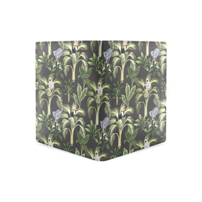 Rainforest Pattern Print Design RF05 Men's Leather Wallet-JorJune