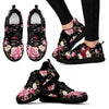 Rose Pattern Women Sneakers