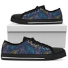 Sea Turtle Baby Print Men Low Top Shoes